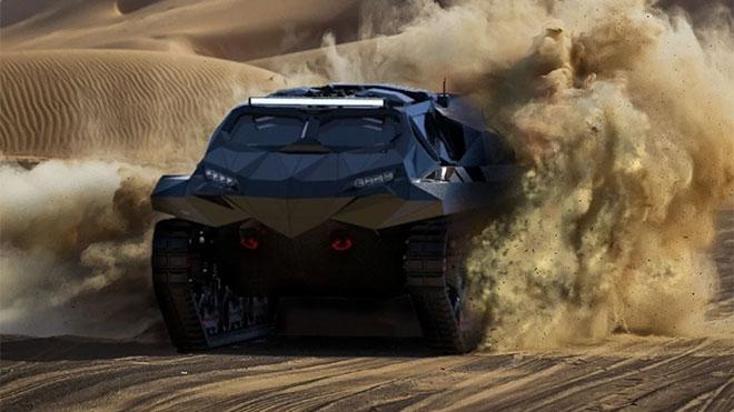 Suda gidebilen hibrit temelli kışkırtıcı askeri araç ile tanışın